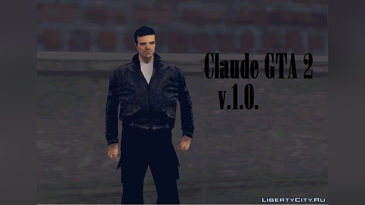 Claude GTA 2 v.1.0. for GTA 3 - Картинка #1