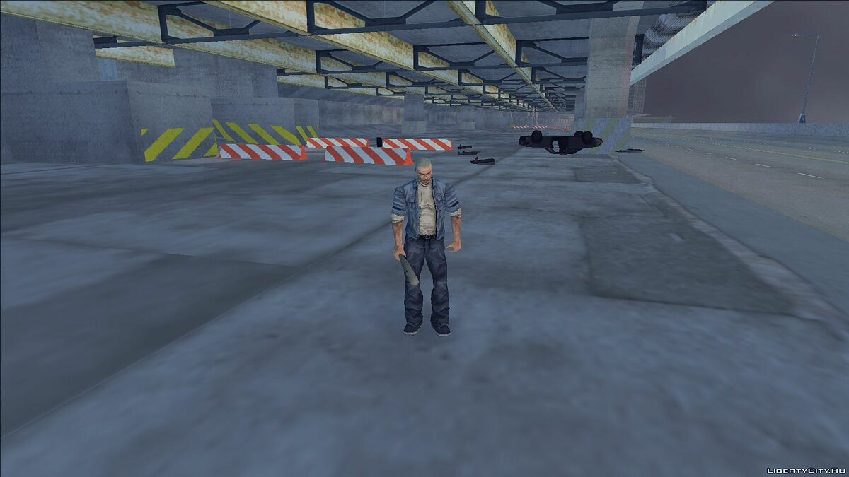 New character Skin James Earl Cash for GTA 3