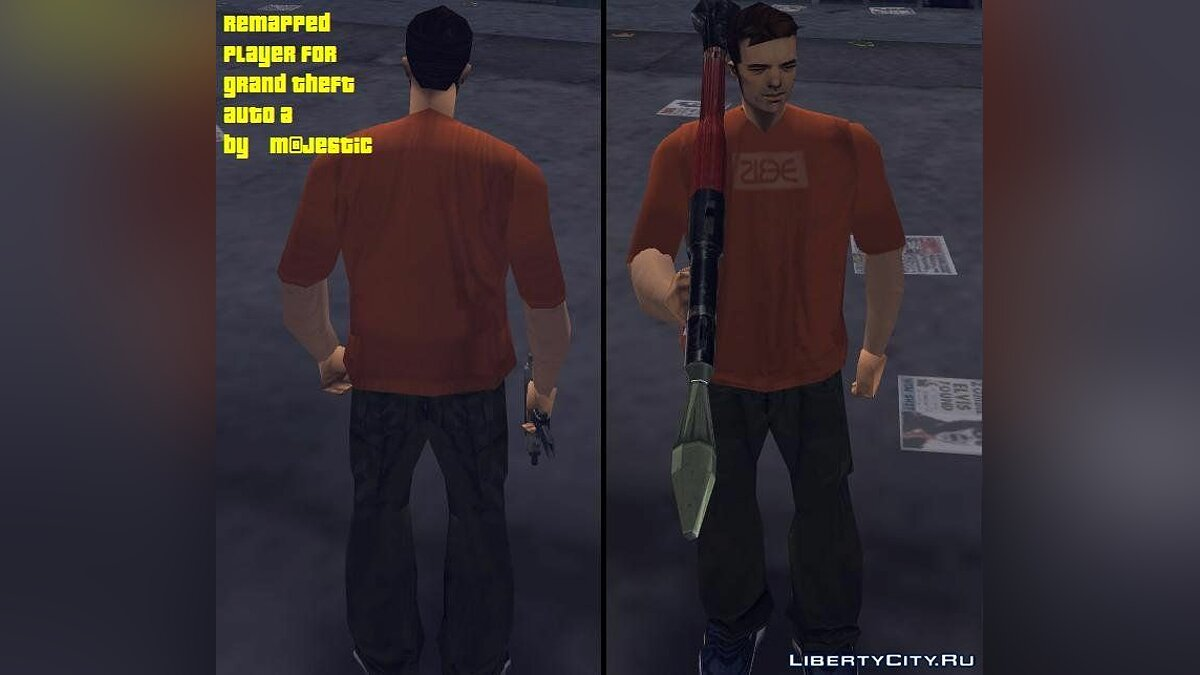 Claude remapped for GTA 3