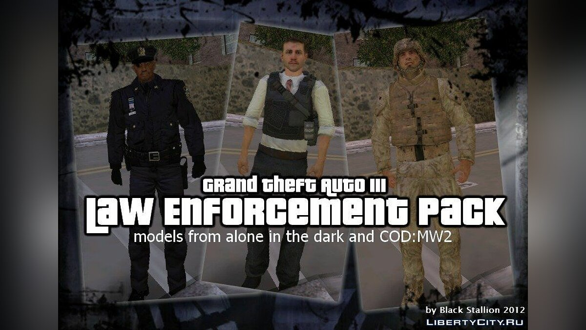 Law Enforcement Pack for GTA 3 - Картинка #1