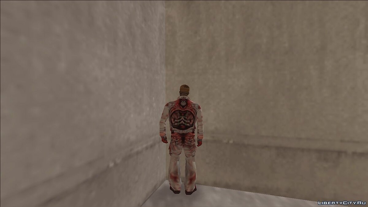 New character Zombies from Half-Life (1998) for GTA 3