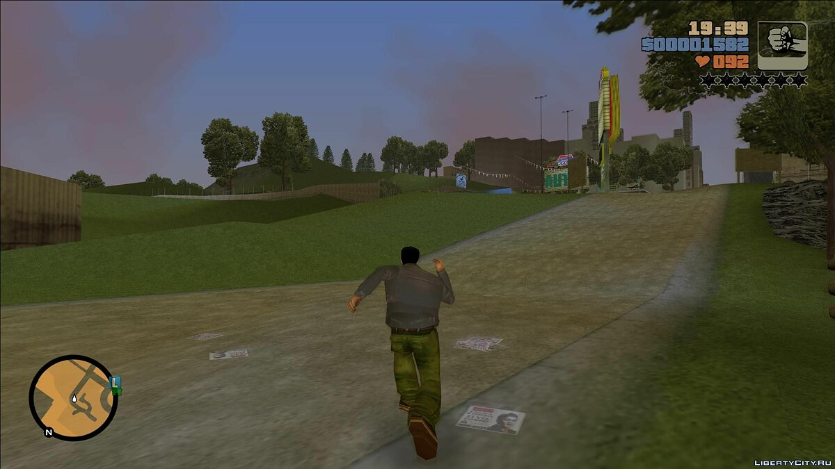 New character Mike from GTA Advance for GTA 3