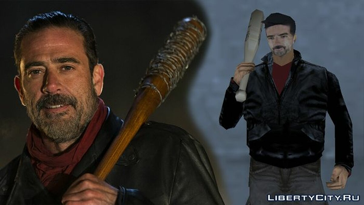 Negan (The Walking Dead) for GTA 3 - Картинка #1