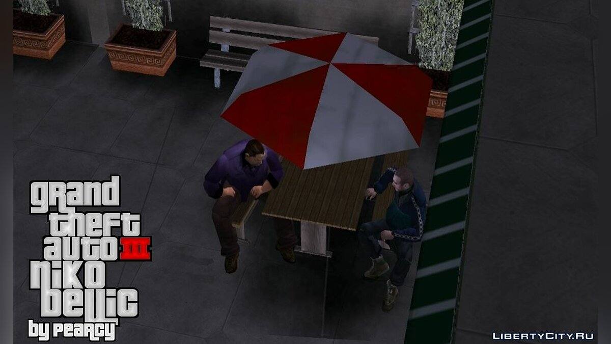 NIKO BELLIC FOR GTA III for GTA 3 - screenshot #2