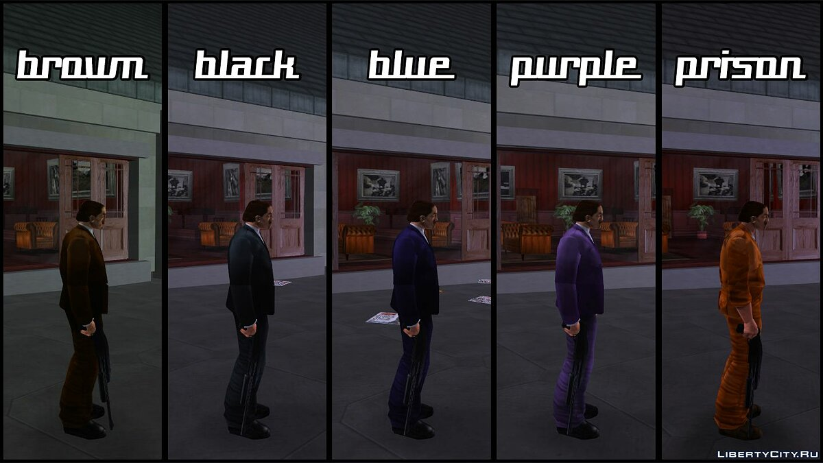 New character Young Salvatore Leone for GTA 3