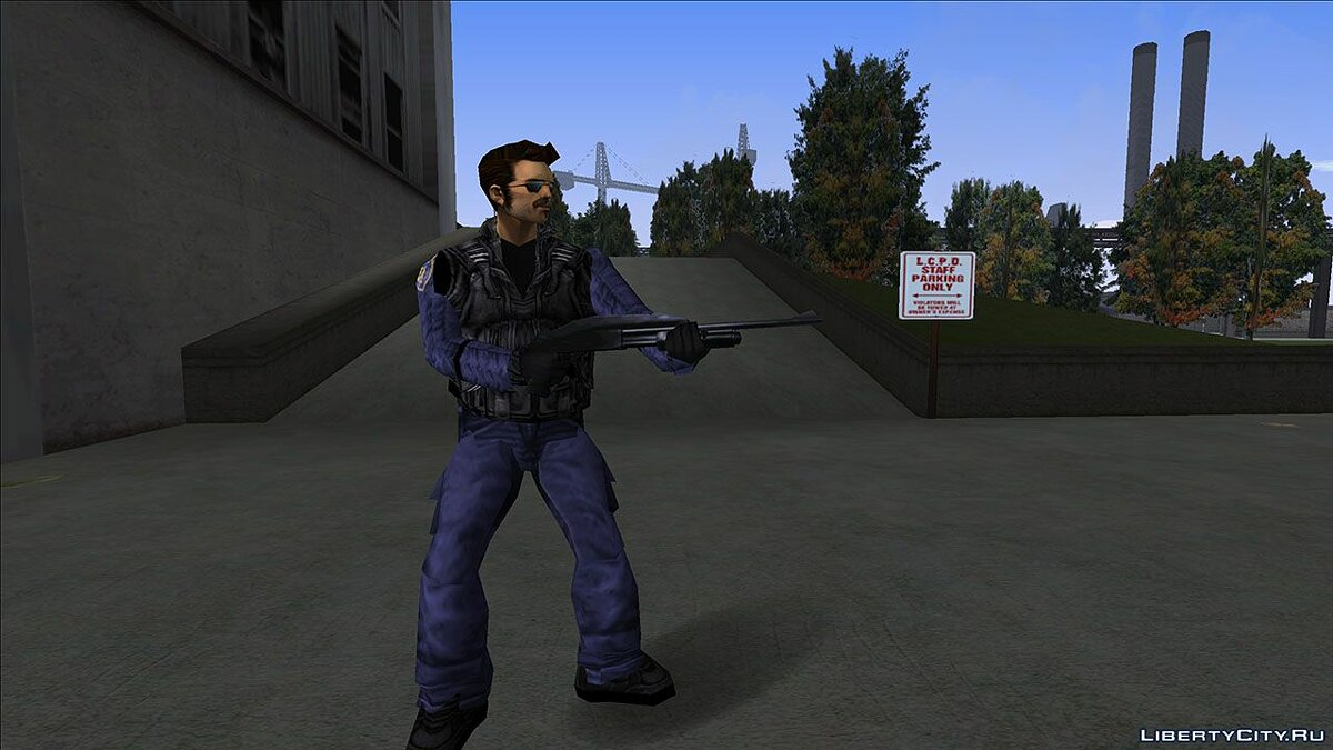 New character Police enforcer for GTA 3