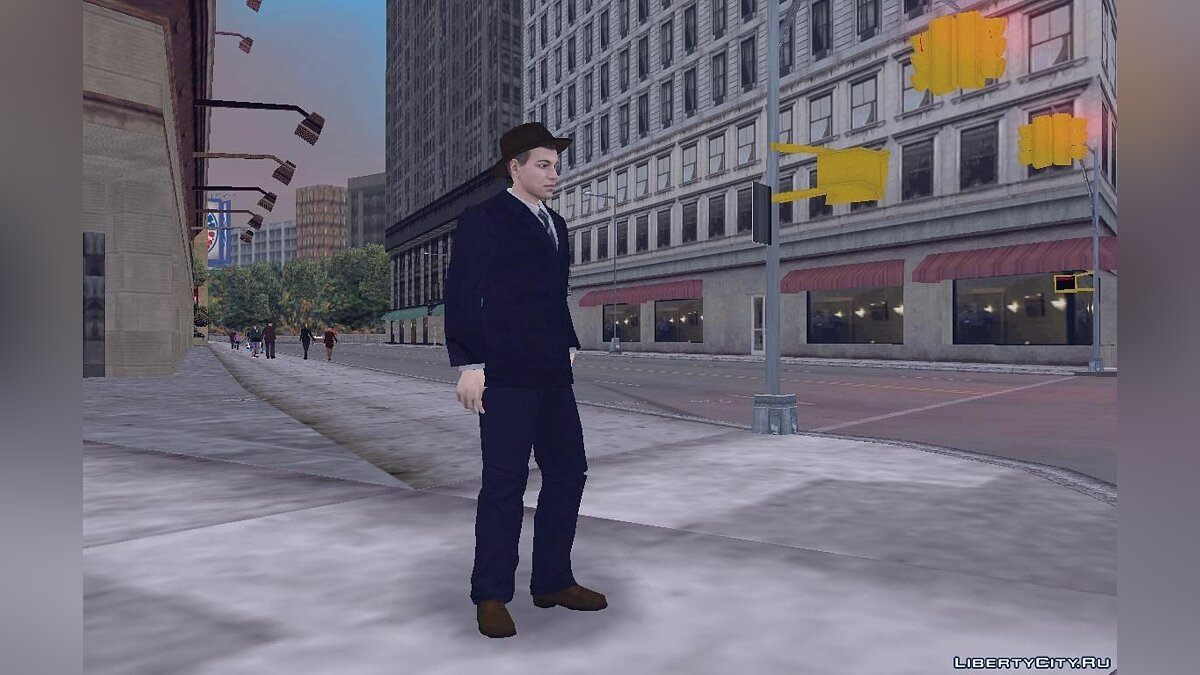 New character The townsman from Saboteur for GTA 3