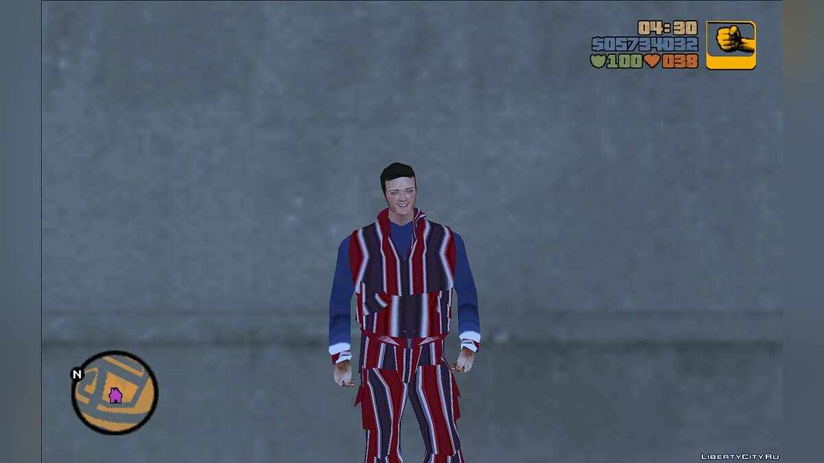 New character Robbie Rotten (LazyTown) for GTA 3