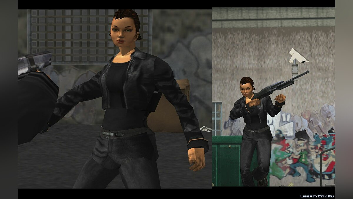 New character Claudina - Female character for GTA 3