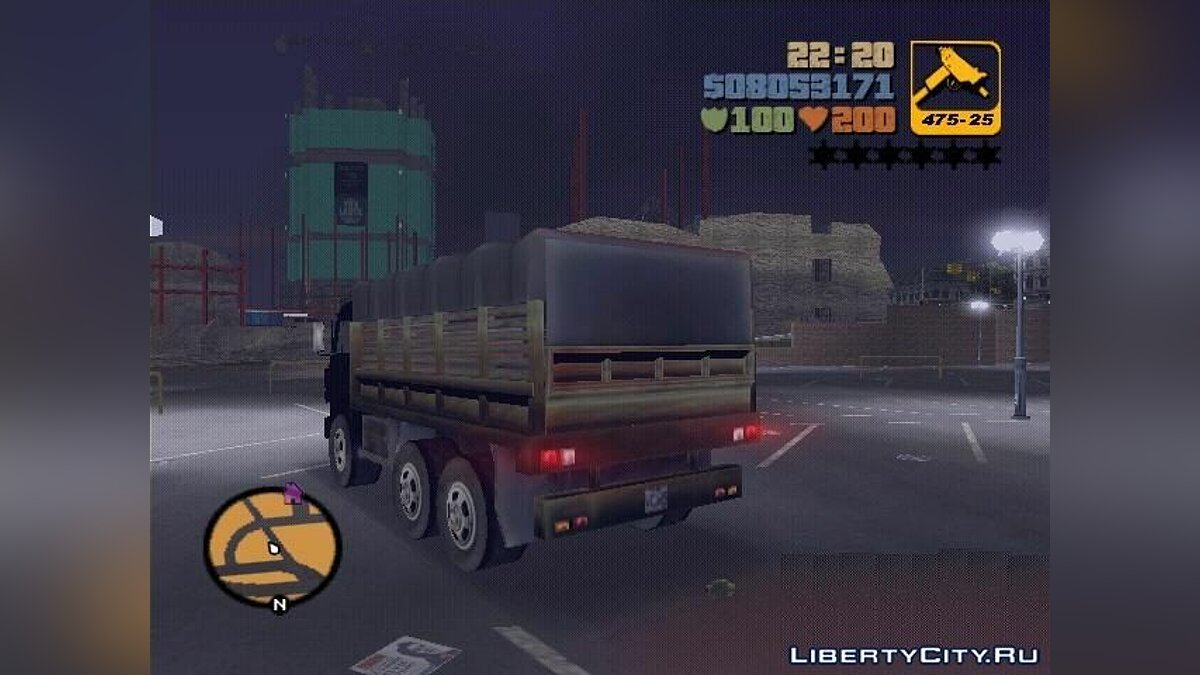 Russian cars Military KamAZ 4310 for GTA 3