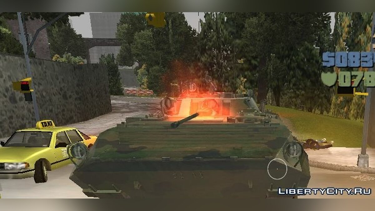BMP-2 - improved version for GTA 3 - screenshot #3