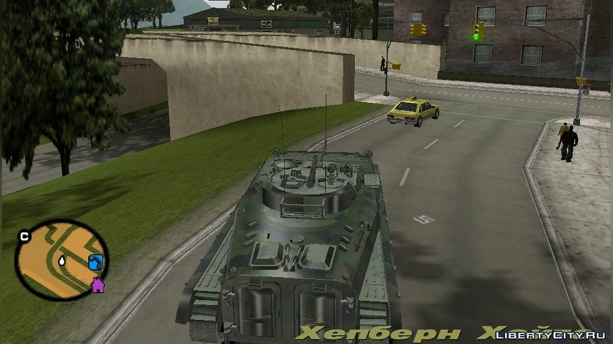 BMP-2 - improved version for GTA 3 - screenshot #2