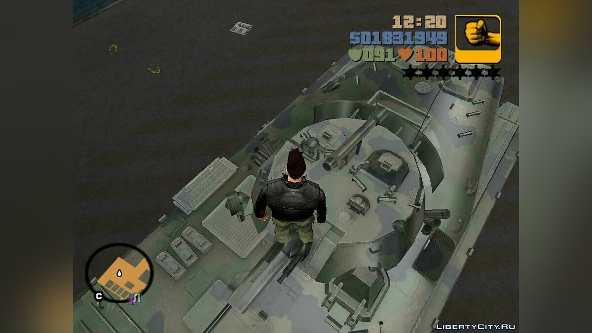 BMP-2 - improved version for GTA 3 - screenshot #4