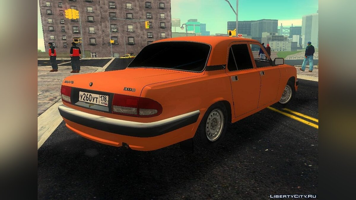 Russian cars GAZ 3110