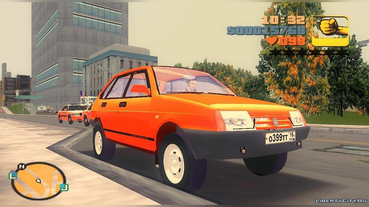 Russian cars VAZ 2109 for GTA 3