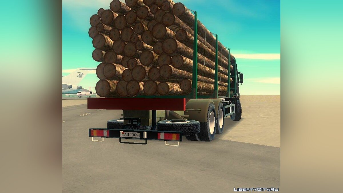 Russian cars KamAZ 65117 for GTA 3