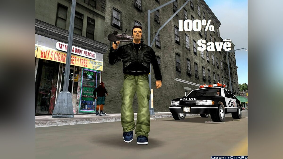 100% Save for GTA 3