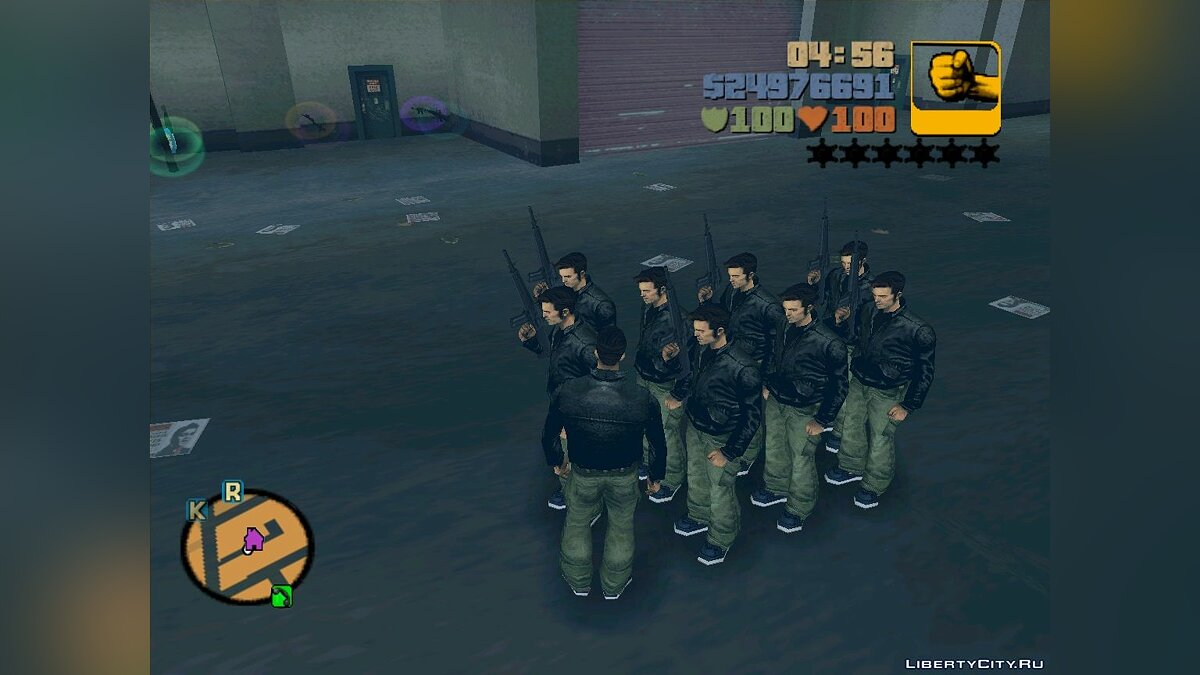 Save GTA III - Claude's Army for GTA 3