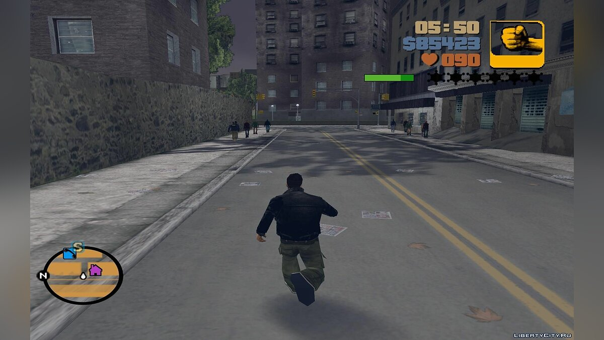 The indicator of energy of fatigue for GTA 3