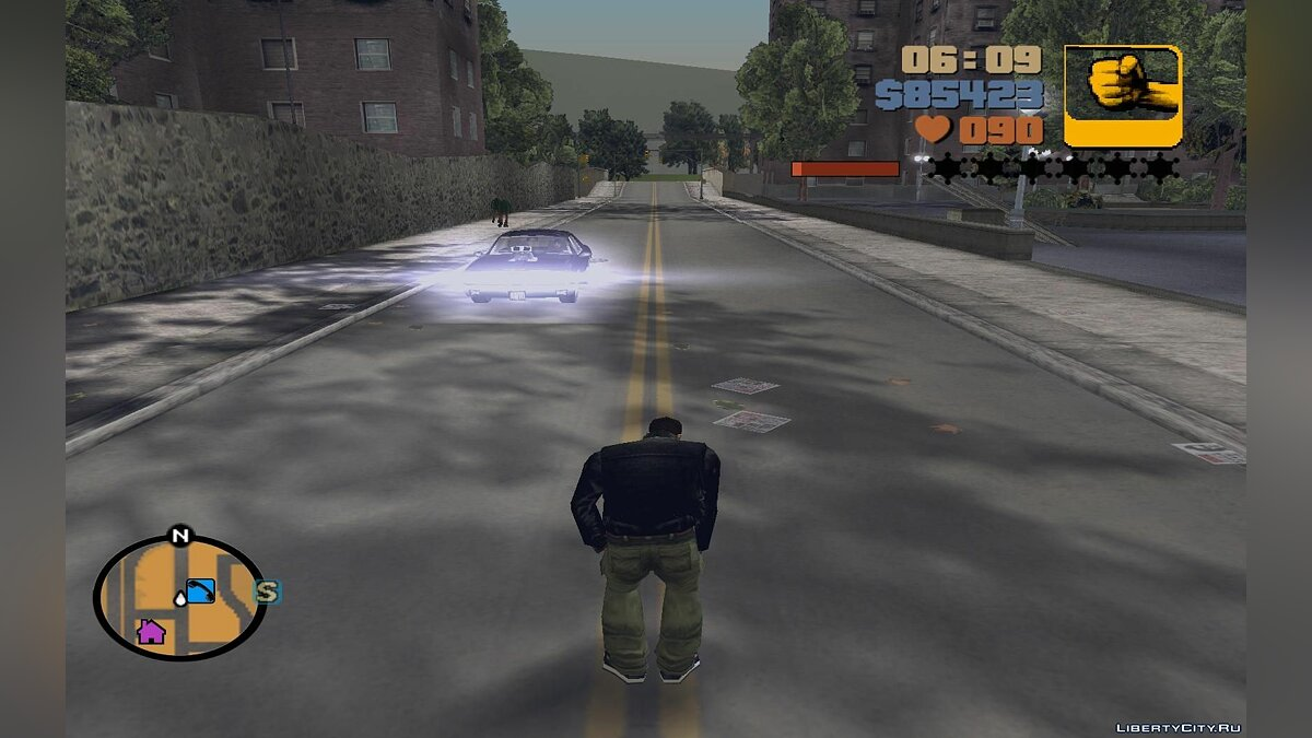 The indicator of energy of fatigue for GTA 3 - screenshot #2