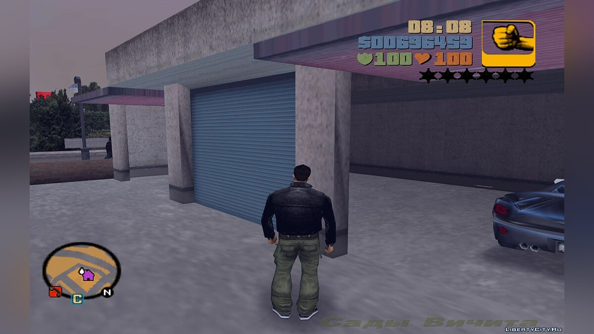 Script mod Fix garage door for GTA 3