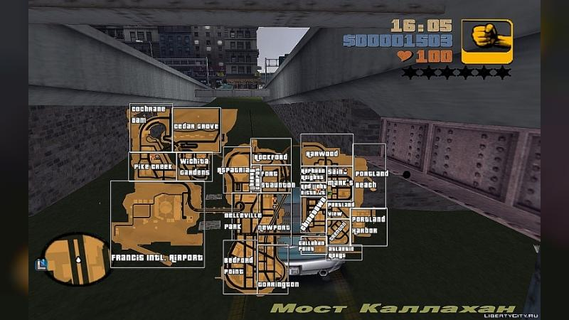 Script mod Card in the game for GTA 3