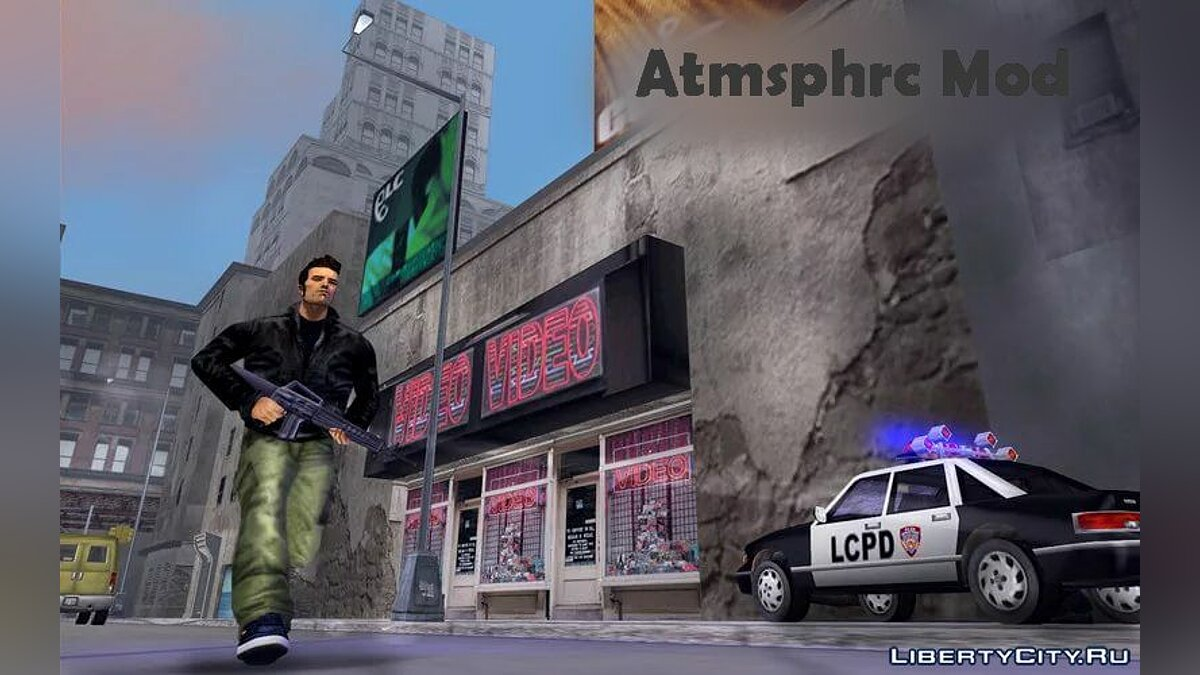 Script mod ATMOSPHERIC Mod For GtA 3 for GTA 3