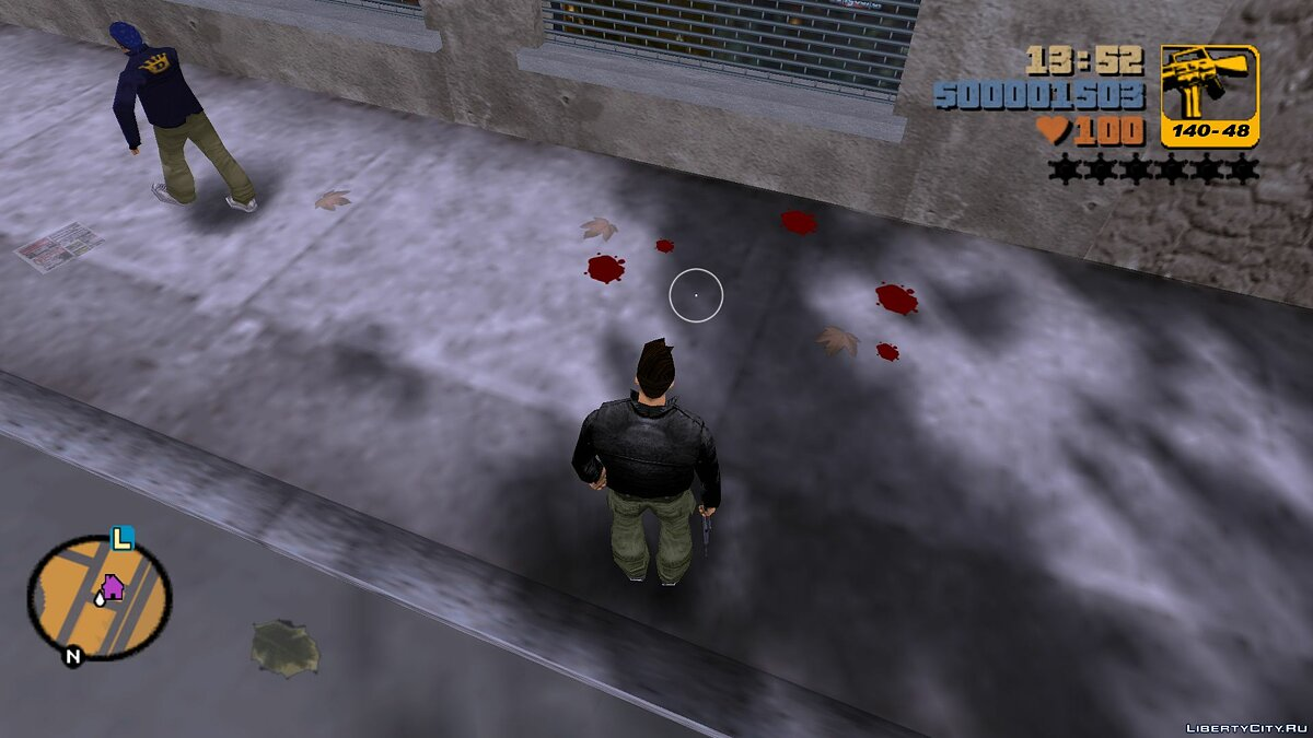 Script mod Quick cleaning of corpses for GTA 3