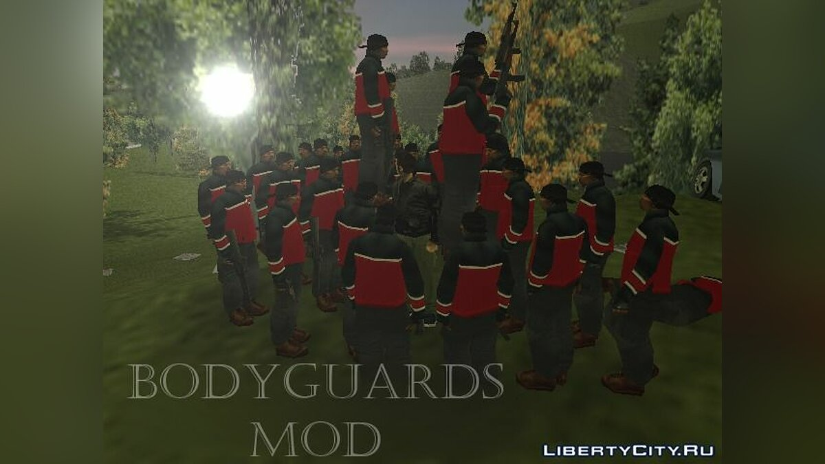 Script mod Bodyguards mod 1.1 for GTA III for GTA 3