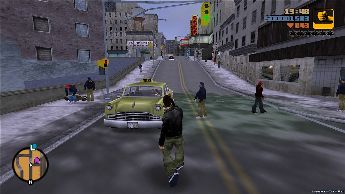 Script mod Big traffic for GTA 3
