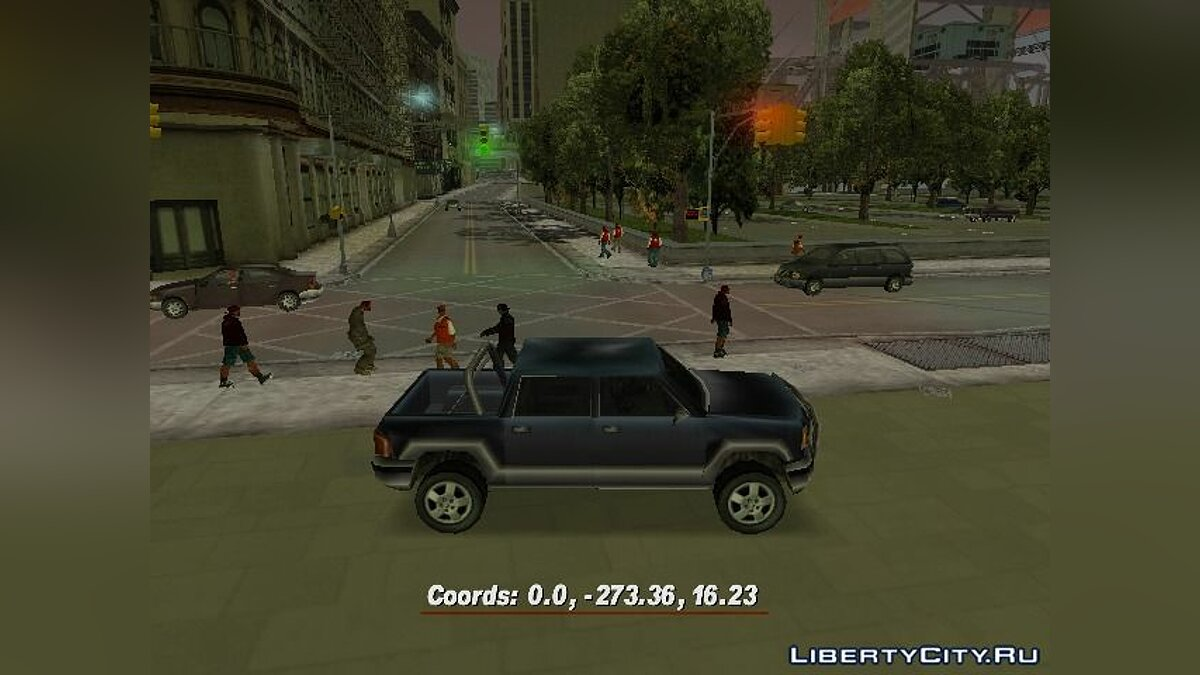 Script mod Coordinates III for GTA 3