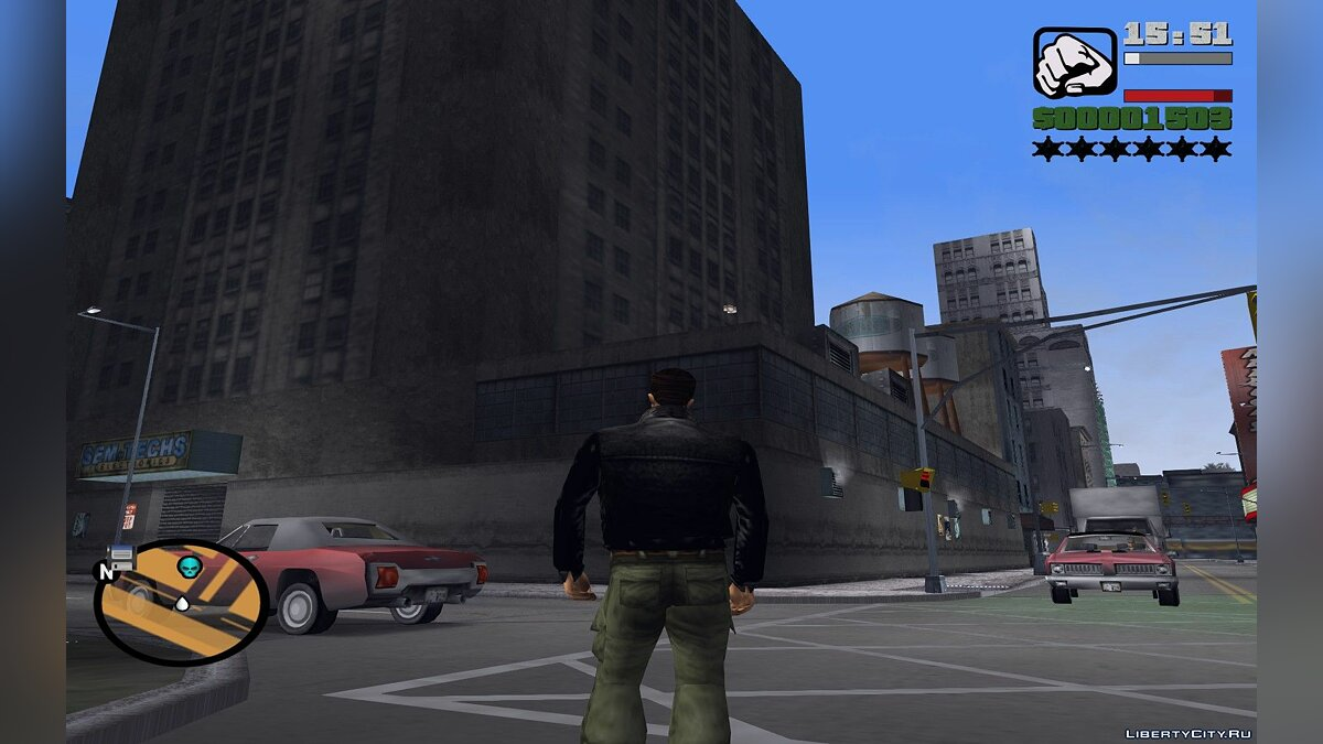 Script mod HUD в стиле San Andreas for GTA 3