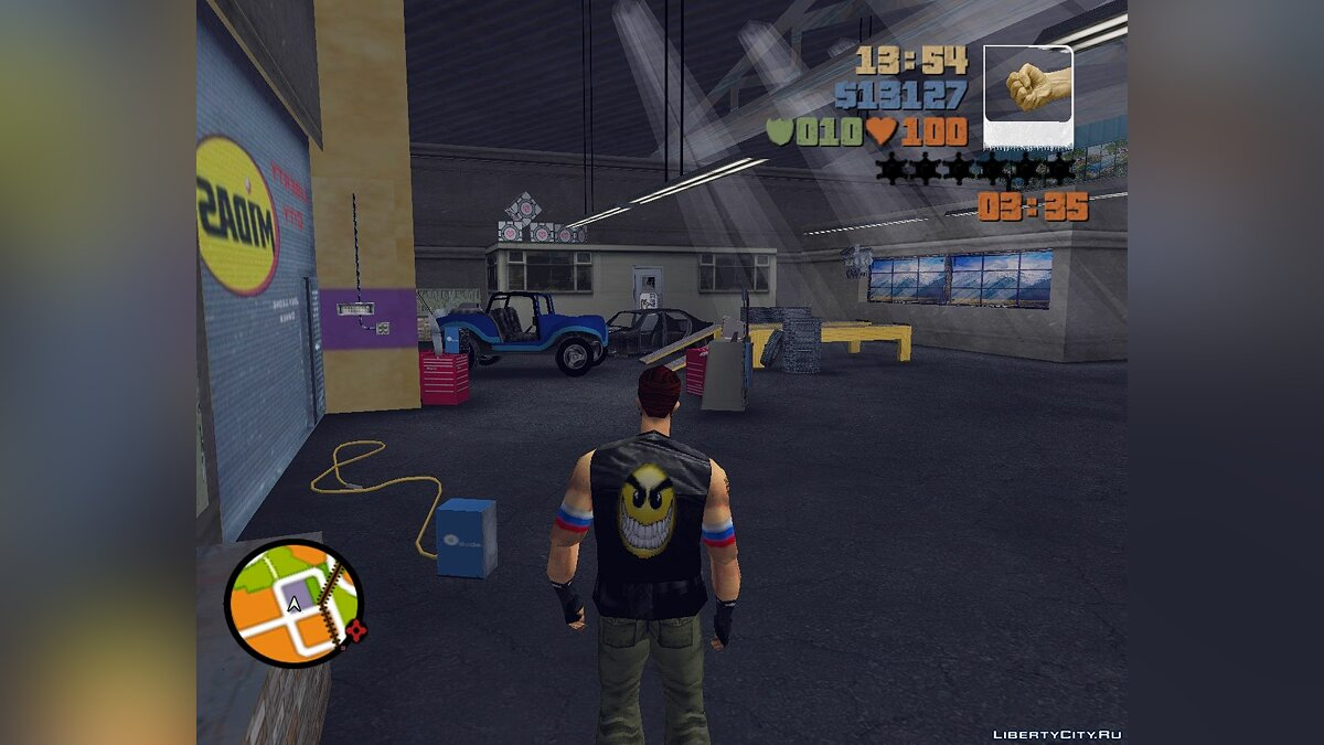 Access to the Apartments Joey, Donald and Kenji for GTA 3