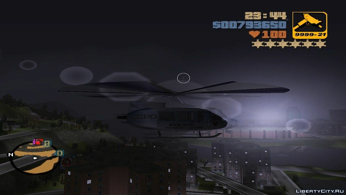 Helicopter Control for GTA 3