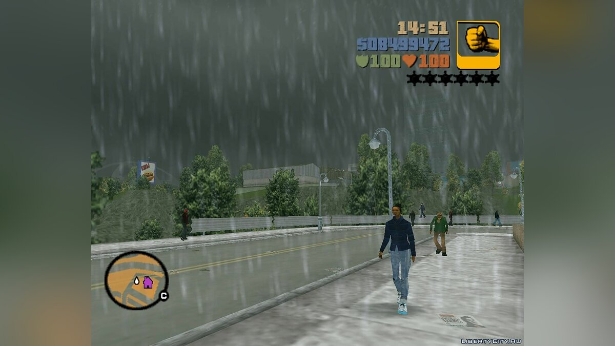 First-person view for GTA 3