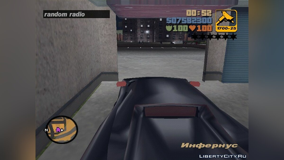 Script mod Set radio for GTA 3