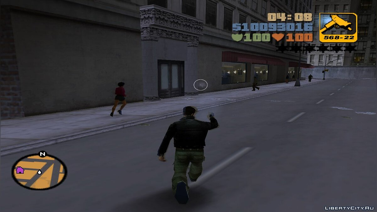 Script mod Deceleration of time for GTA 3