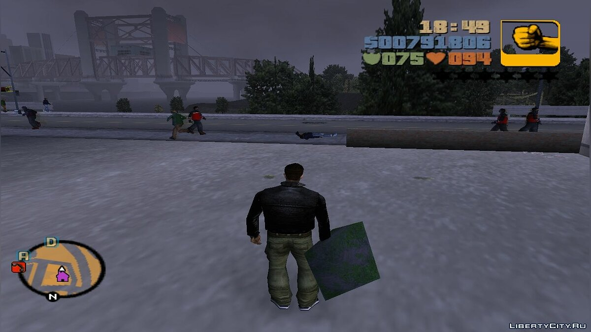 Pick up objects for GTA 3 - screenshot #4