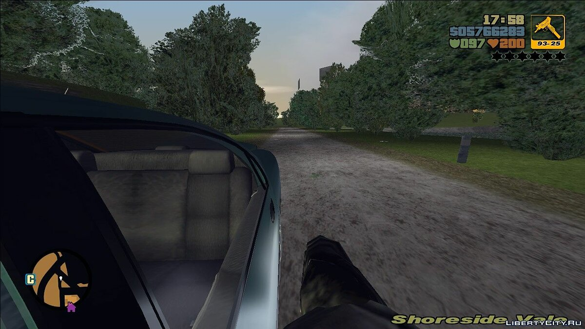 The First Person View for III for GTA 3 - Картинка #7