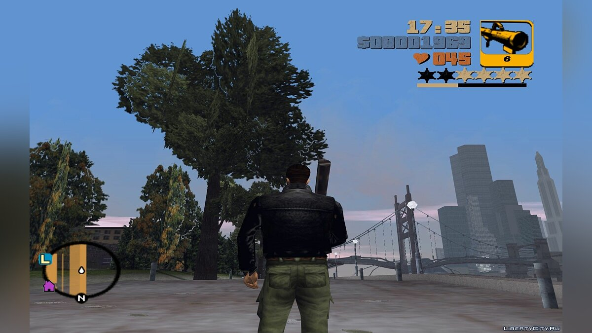 Script mod Wanted level indicator for GTA 3