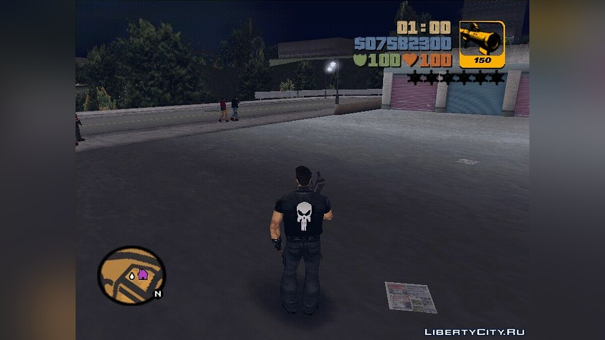 Script mod Heavy Sprint - Heavyweight Sprint for GTA 3