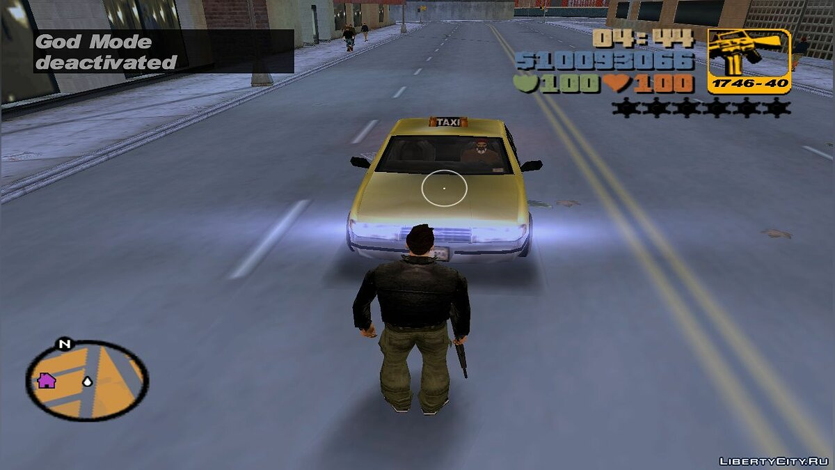Script mod God Mode for GTA 3