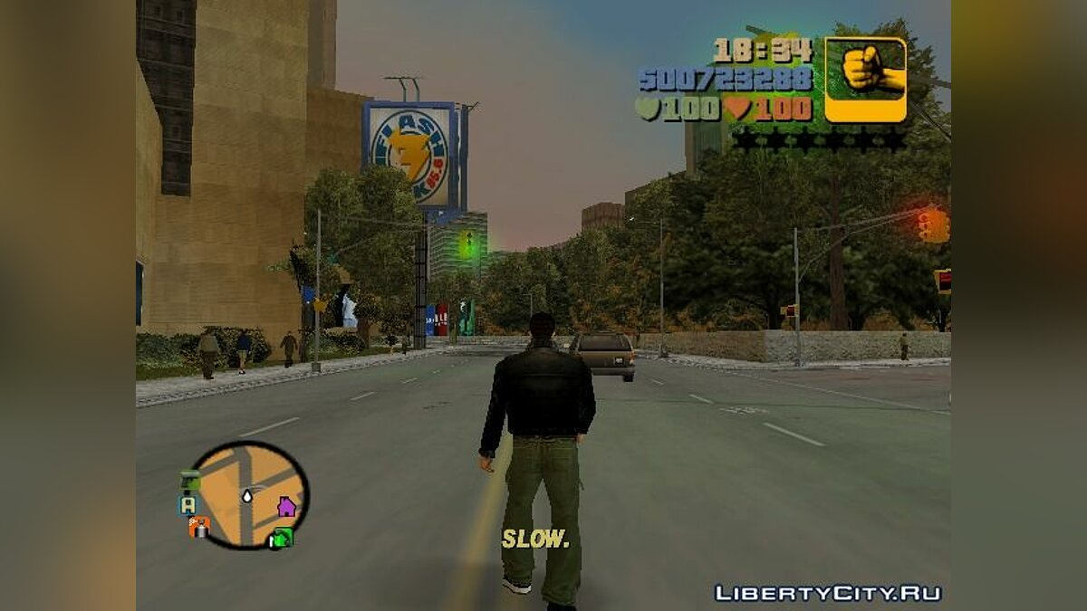 Script mod Game Speed ​​Control v.2 for GTA III for GTA 3