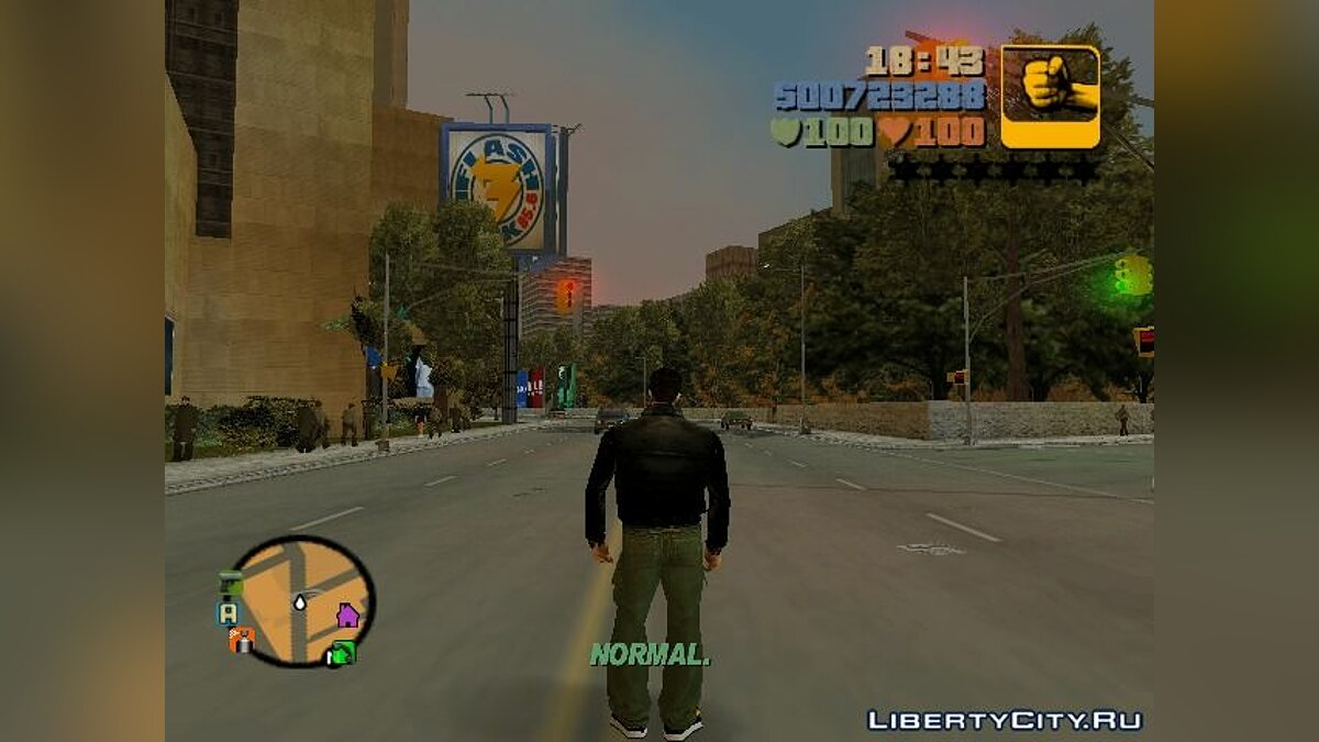 Script mod Game Speed Control v.2 for GTA III for GTA 3