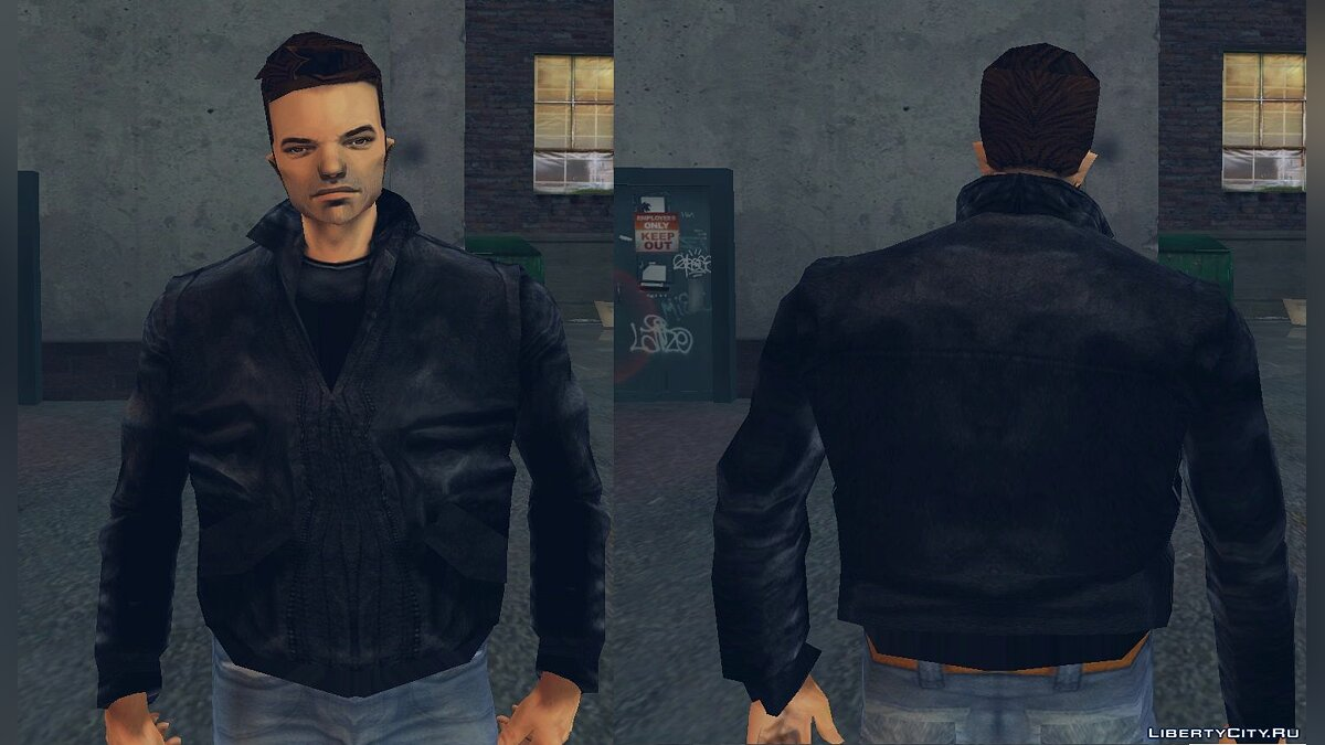 Skin packs Retextured XBOX Claude for GTA 3