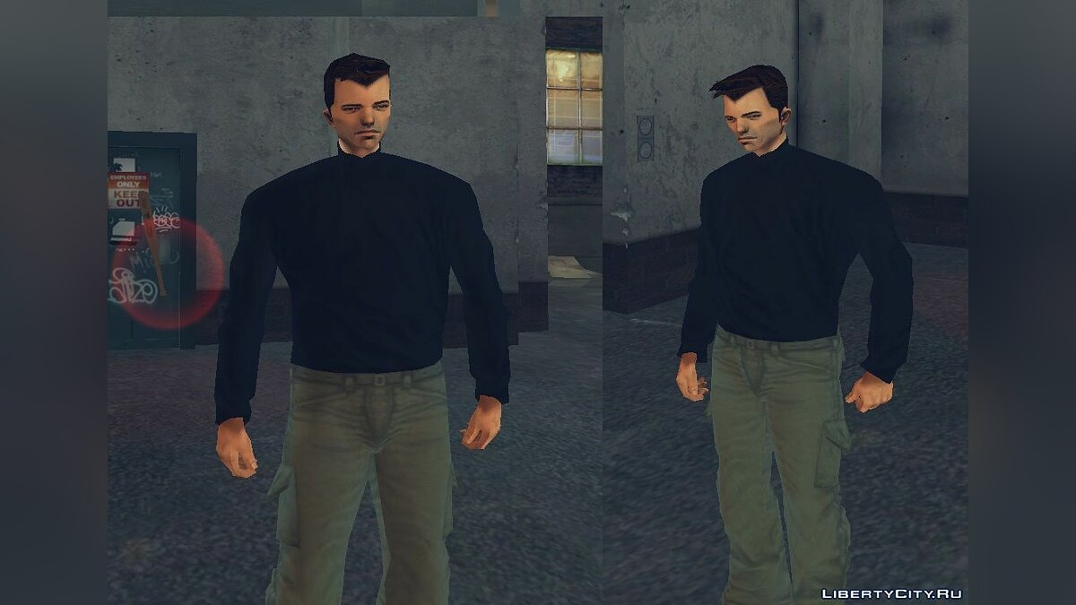 Skin packs Evolution of Claude - Early versions of Claude for GTA 3