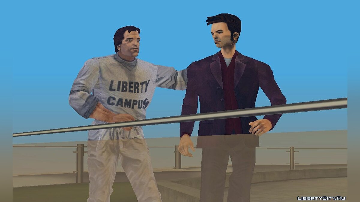 Skin packs Made man claude for GTA 3
