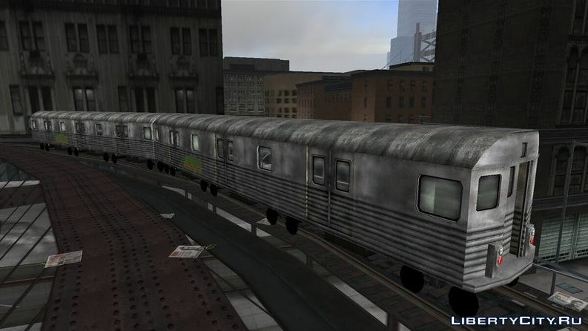 Train Train from Manhunt Game for GTA 3