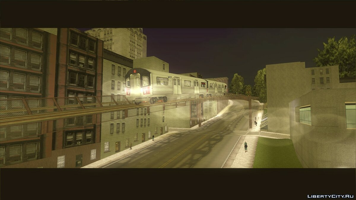 "A new train from the game ""True Crime: New York City"" for GTA 3 - Картинка #1"