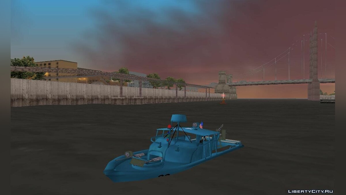 Boats and motorboats Patrol Boat River Mark 2 for GTA 3